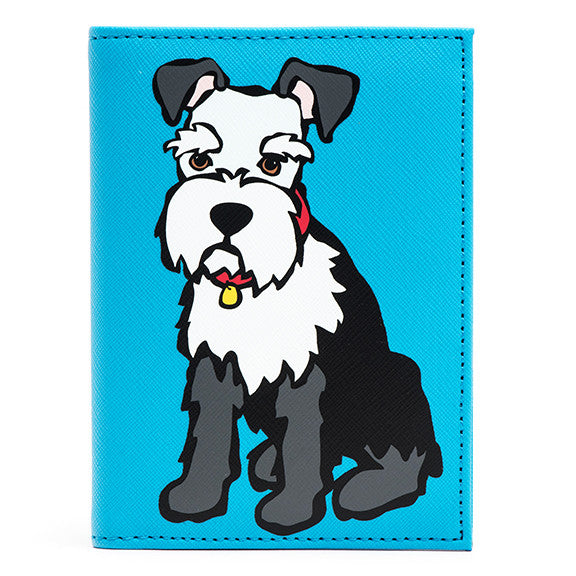 Schnauzer Passport Cover