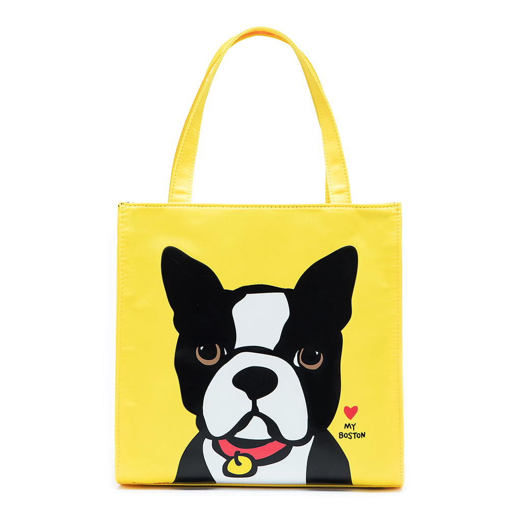 Boston Terrier Small Nylon Tote
