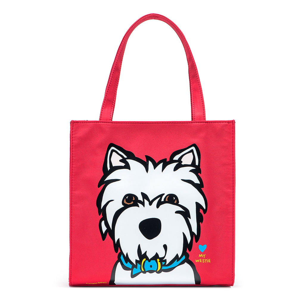 SALE! Westie Small Nylon Tote