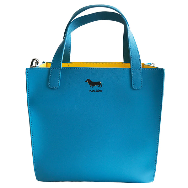 Dog Group Saffiano Small Tote