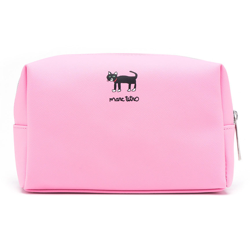Cat Cosmetic Case - Large