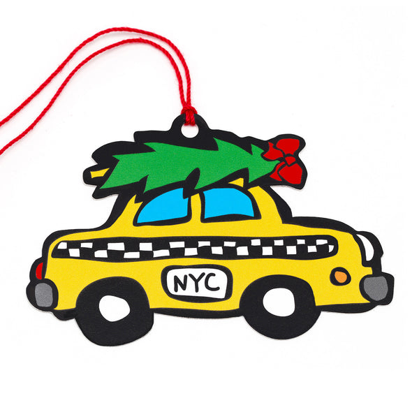 NYC Taxi Gift Tags