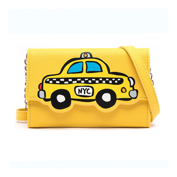 Taxi Crossbody Wallet