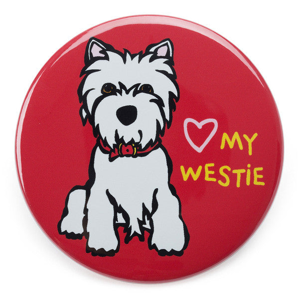 Love my Westie Magnet