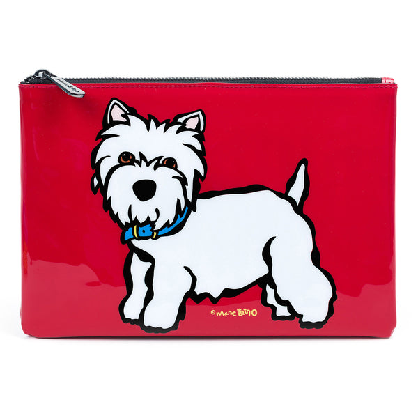 SALE! Westie Pouch- Large