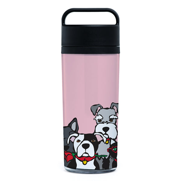 New! Valentine's Day Dog Group Tumbler