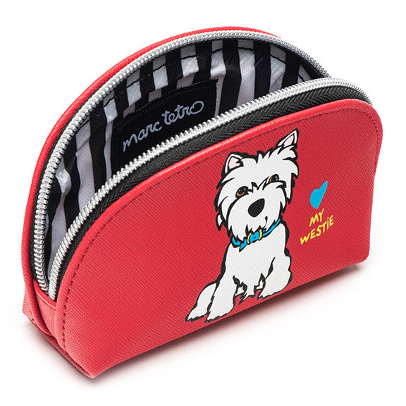 Westie Cosmetic Case - Mini