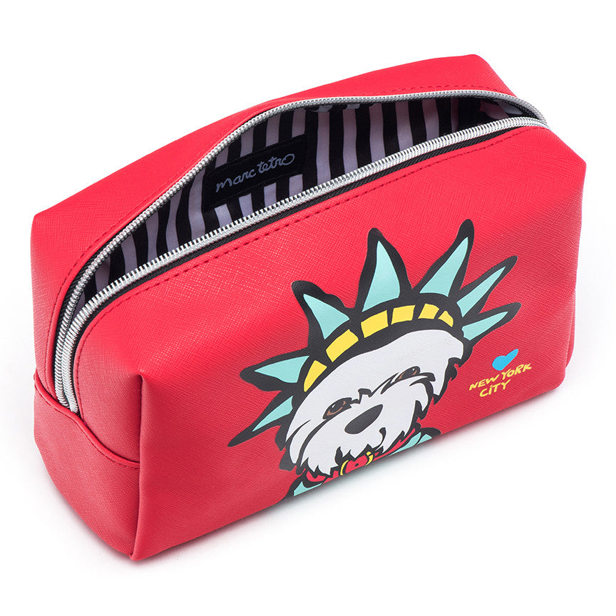 Westie Liberty Cosmetic Case - Large