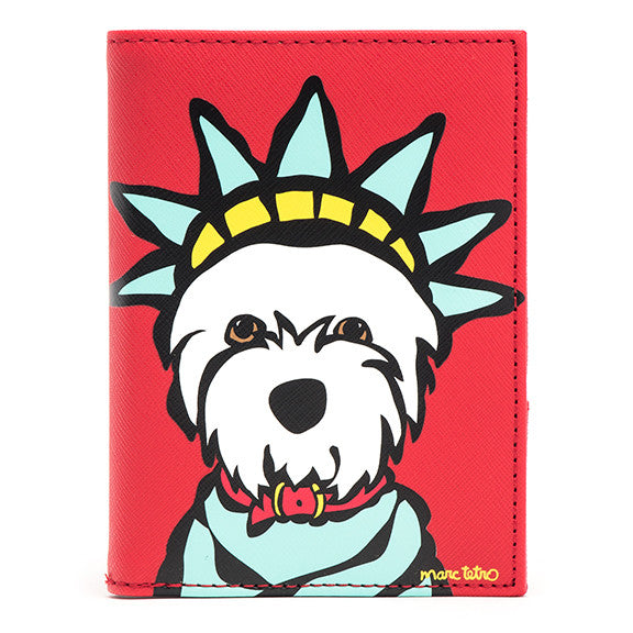 Westie Liberty Passport Cover