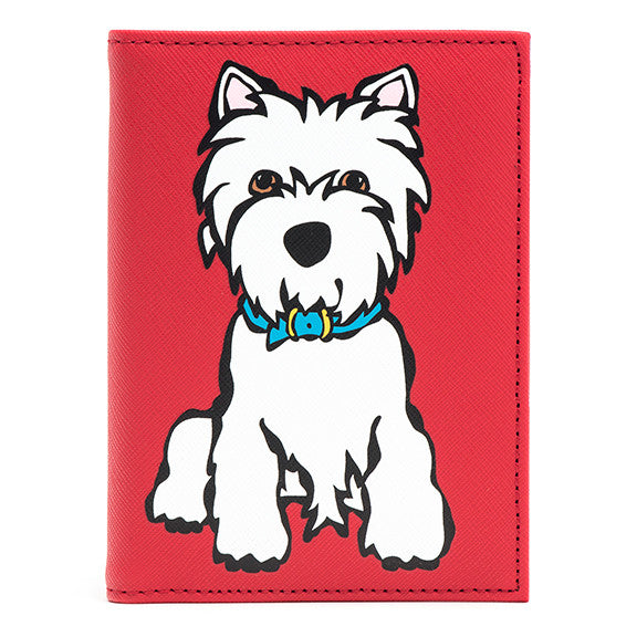 Westie Passport Cover