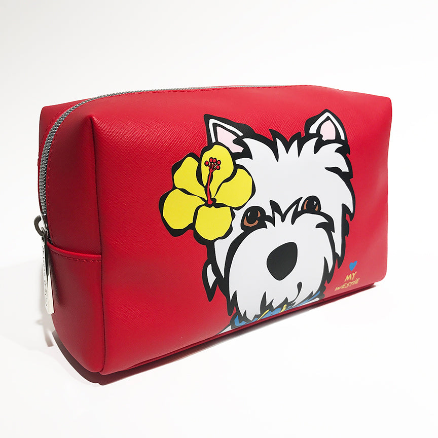 SALE! Westie with Flower