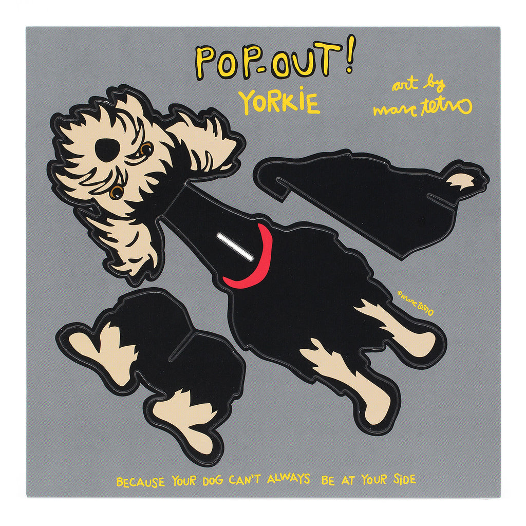 Yorkie Pop-Out!