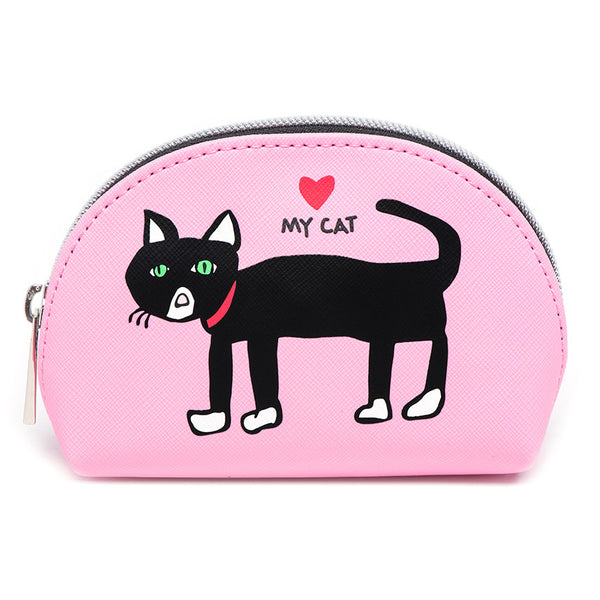 Cat Cosmetic Case - Mini