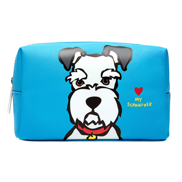 Schnauzer Cosmetic Case - Large