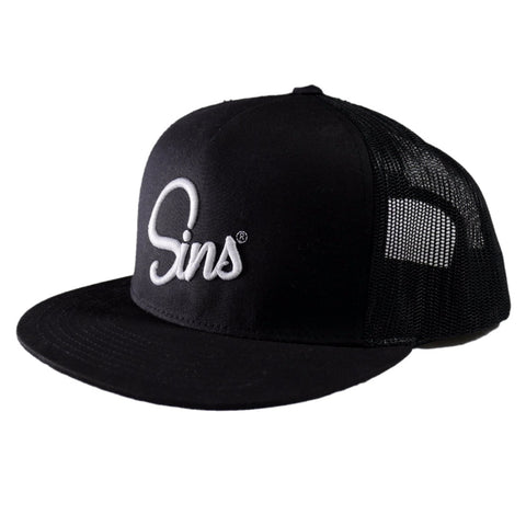 SINS LOGO HAT PUFF EMBROIDERY
