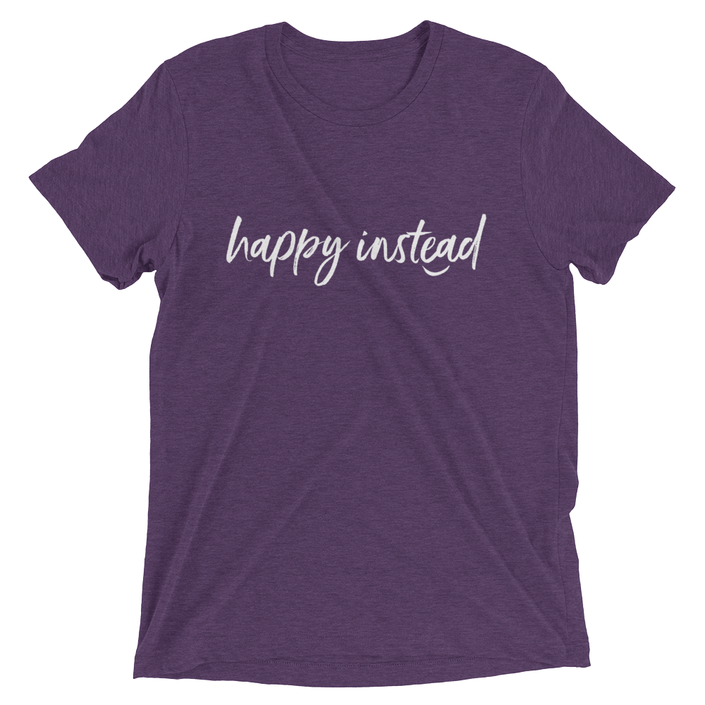 Happy Instead T-Shirt by Kissa Sins