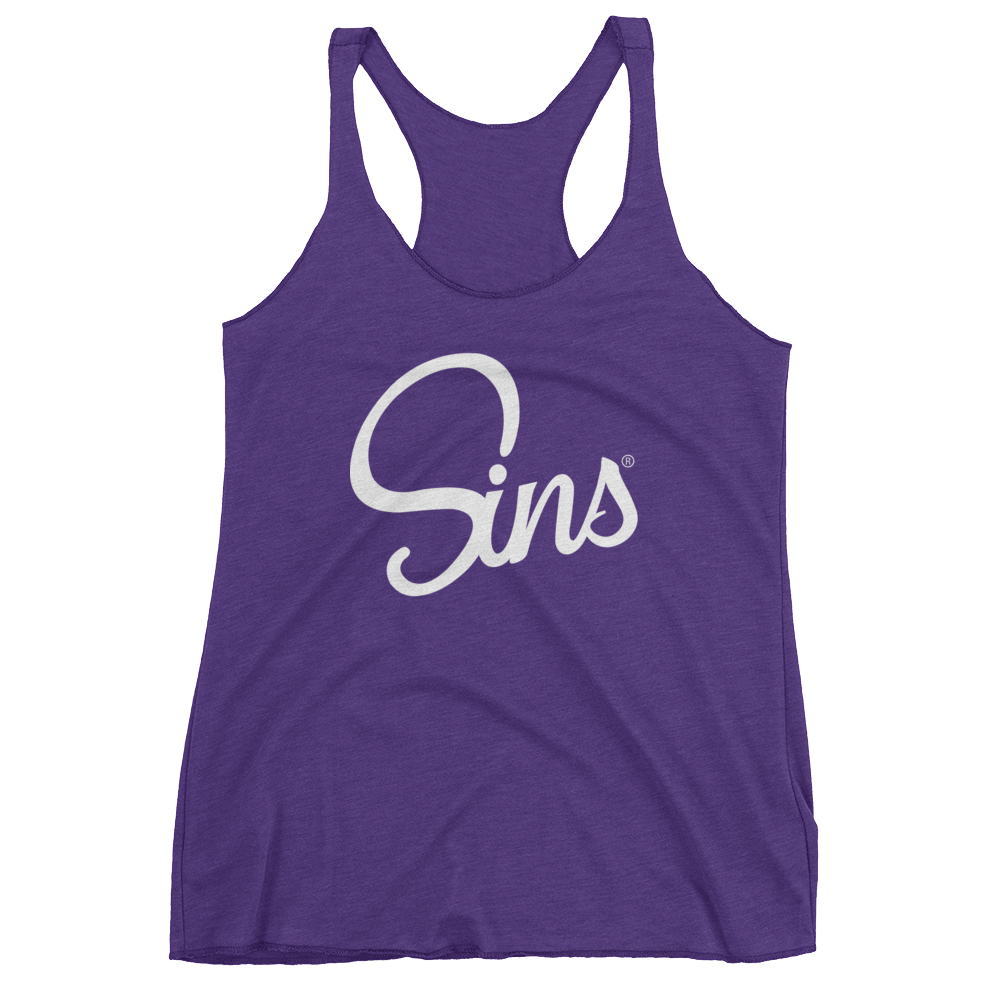 Sins Logo Tank for Women by Johnny Sins and Kissa Sins