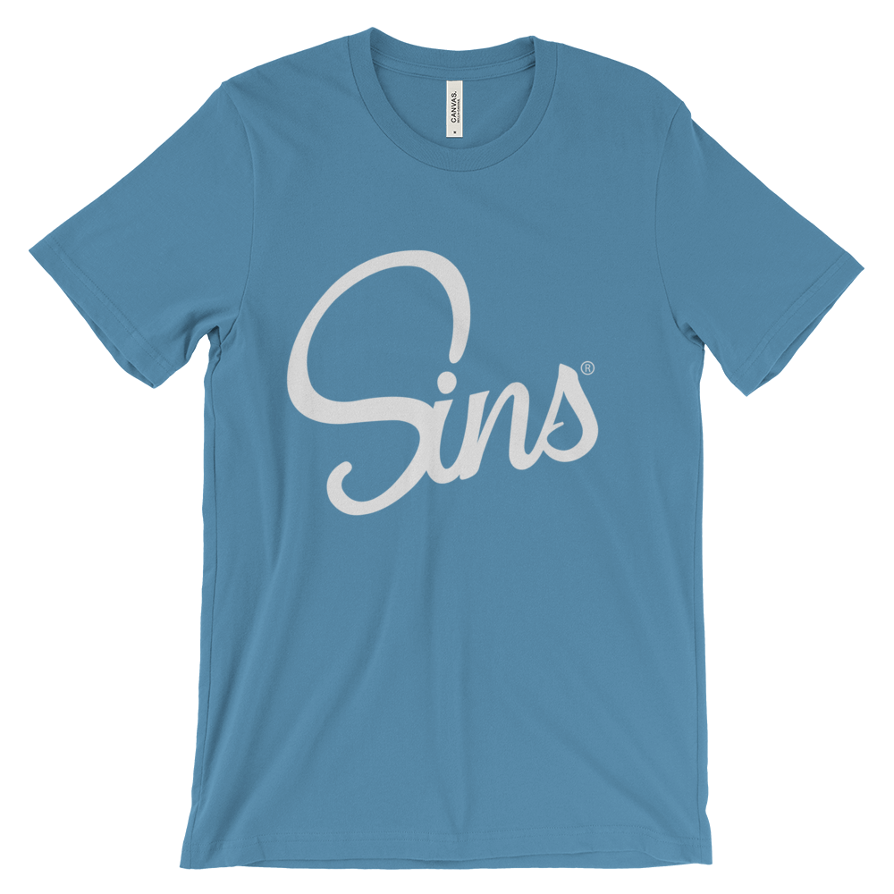 Sins Logo T-Shirt by Johnny Sins and Kissa Sins