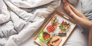 Why eating in bed isn't all it's cracked up to be