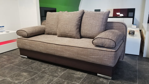 Sofa Bed / Futon Natali Brown / Cappuccino