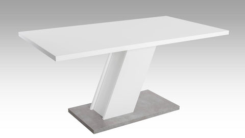 "Dining Table ""Innsbruck"" in White"