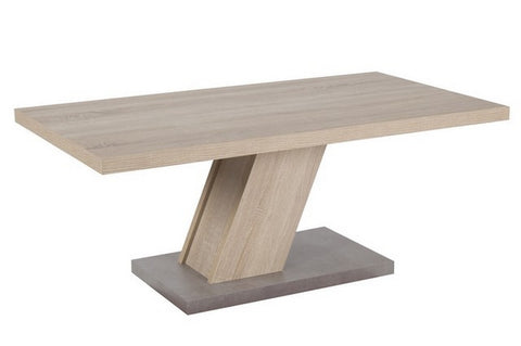 "Coffee Table ""Innsbruck"" in Rough Sawn Oak"
