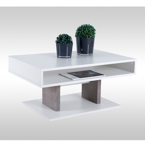 "Coffee Table ""Pisa"" in White"