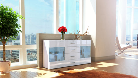 "Sideboard ""Bari"" - in White Matt / Various Colours"