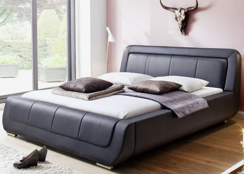 "Bed Frame ""Modena"" in Leather"