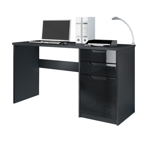 "Office Desk ""Logan"" in Black / Different Front Colors"