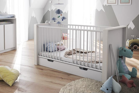 Baby Crib Nandini - convertible to Toddler Bed