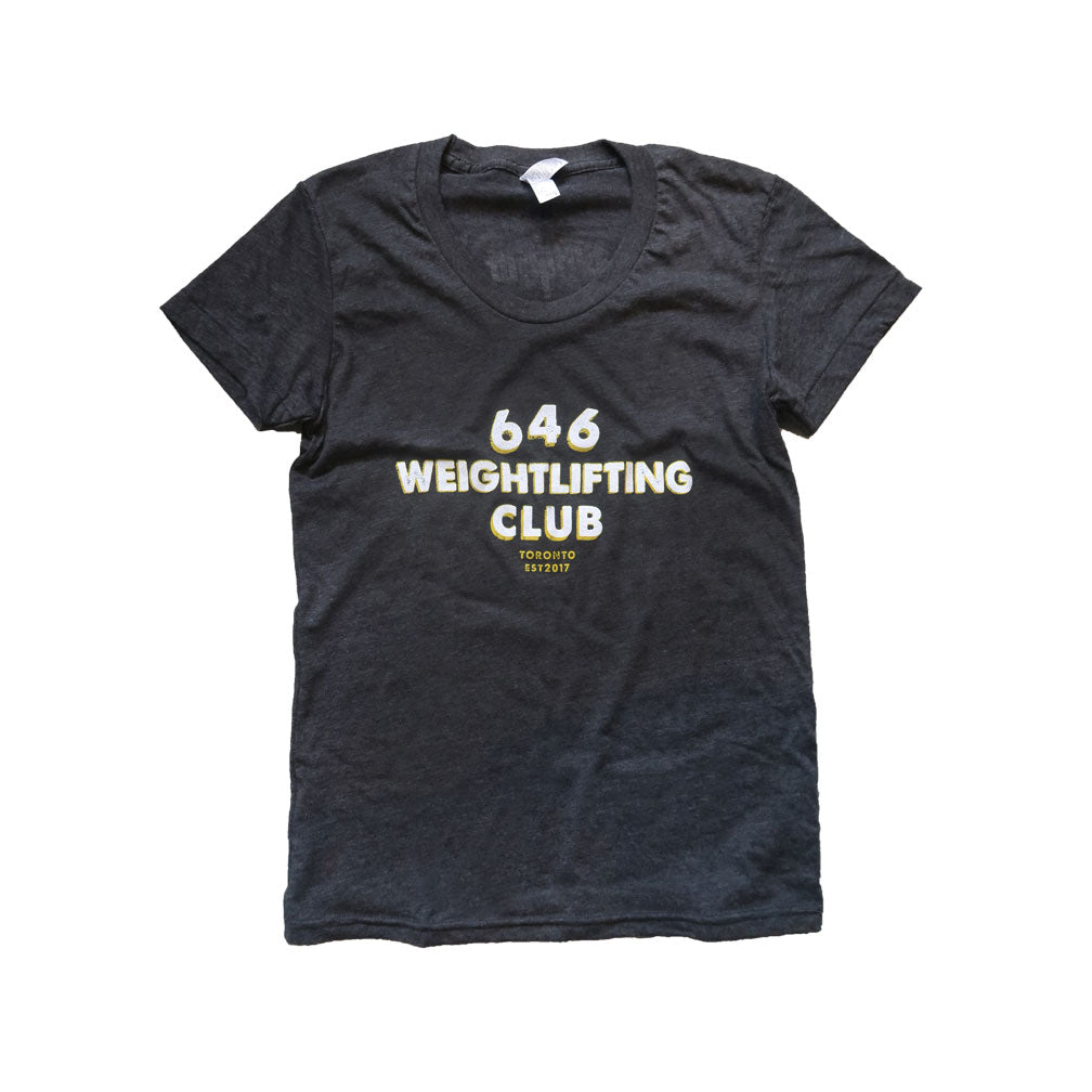 646 Weightlifting Club Tee - Womens