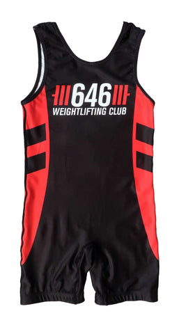 646 Weightlifting Unisex Singlet