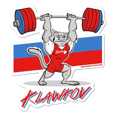 Dmitry Klawkov - Vinyl Sticker