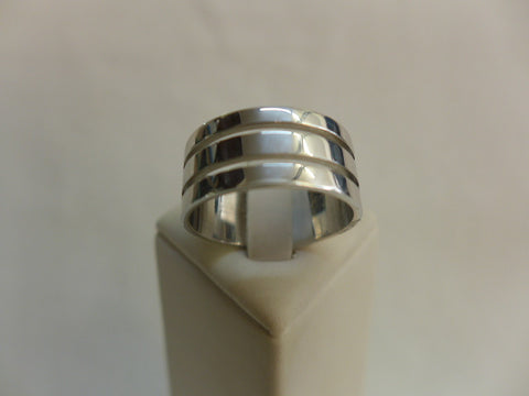 Men's Sterling Silver Cut Out Ring