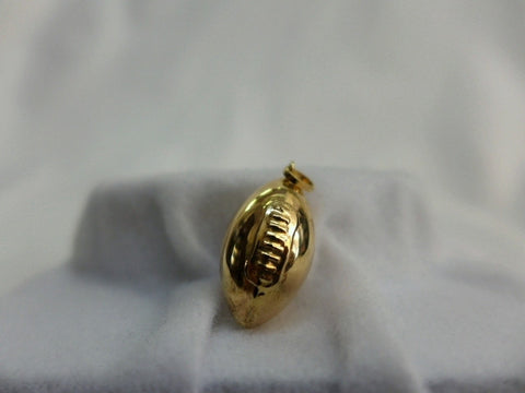9Ct Gold Rugby Ball Charm