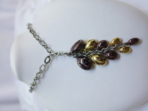Coffee Steel Necklace