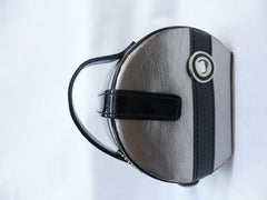 Black and Silver Mini Jewellery Case