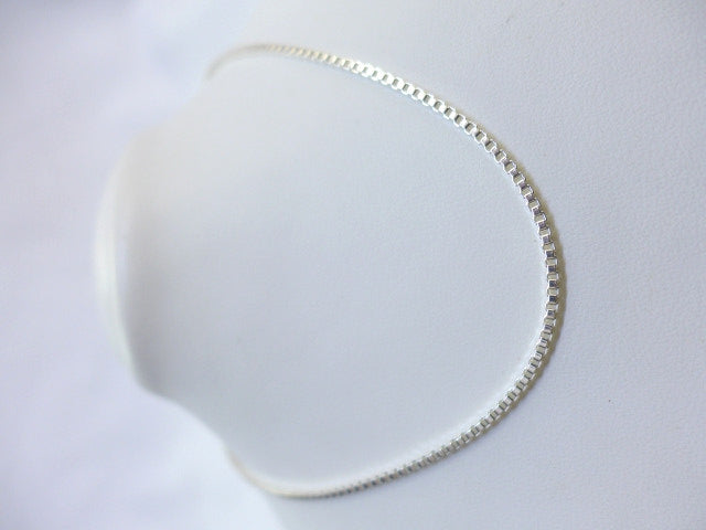 Sterling Silver 40cm Heavy Box Chain