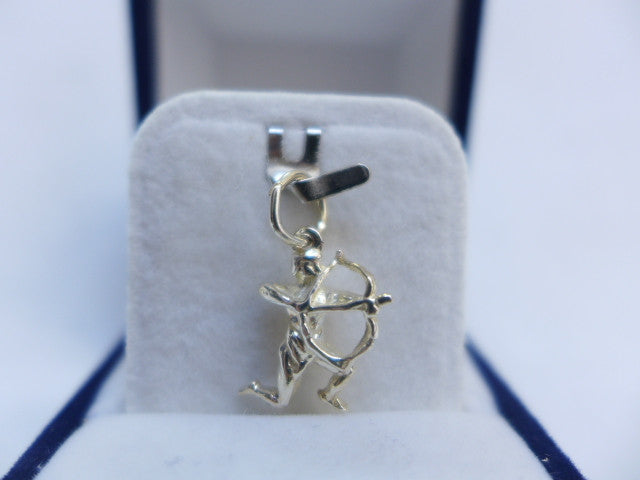Sterling Silver Sagittarius Star Sign Charm
