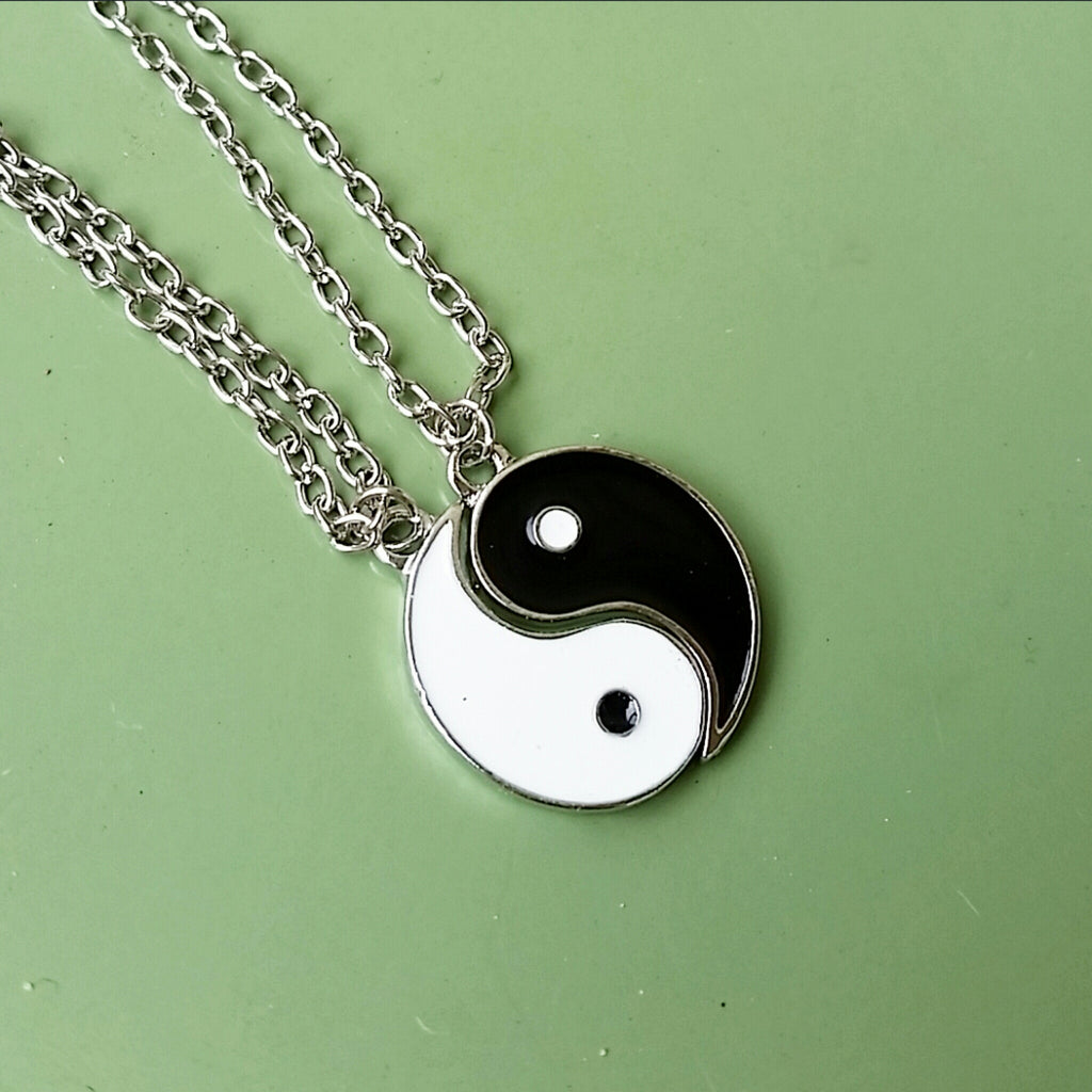 Yin Yang Necklace Set