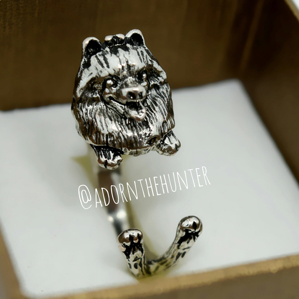 Pomeranian Wrap Rings