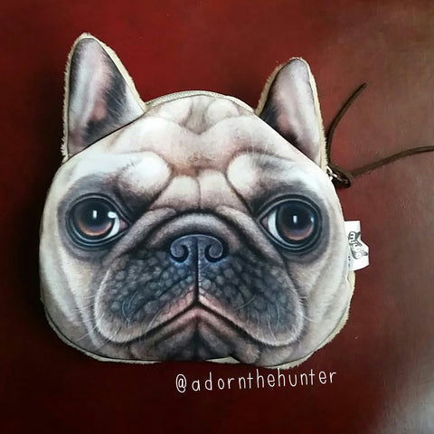 Frenchie Change Purse