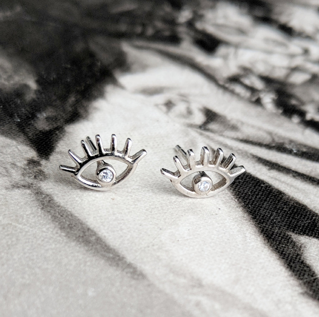 Eyes Wide Open Earrings