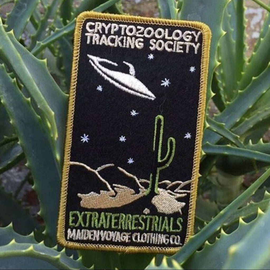 Cryptozoology Tracking Extraterrestrial Patch
