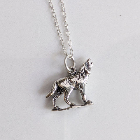 Howling Wolf Necklace