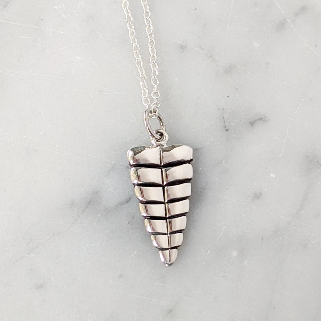 Rattle Snake Tail Necklace