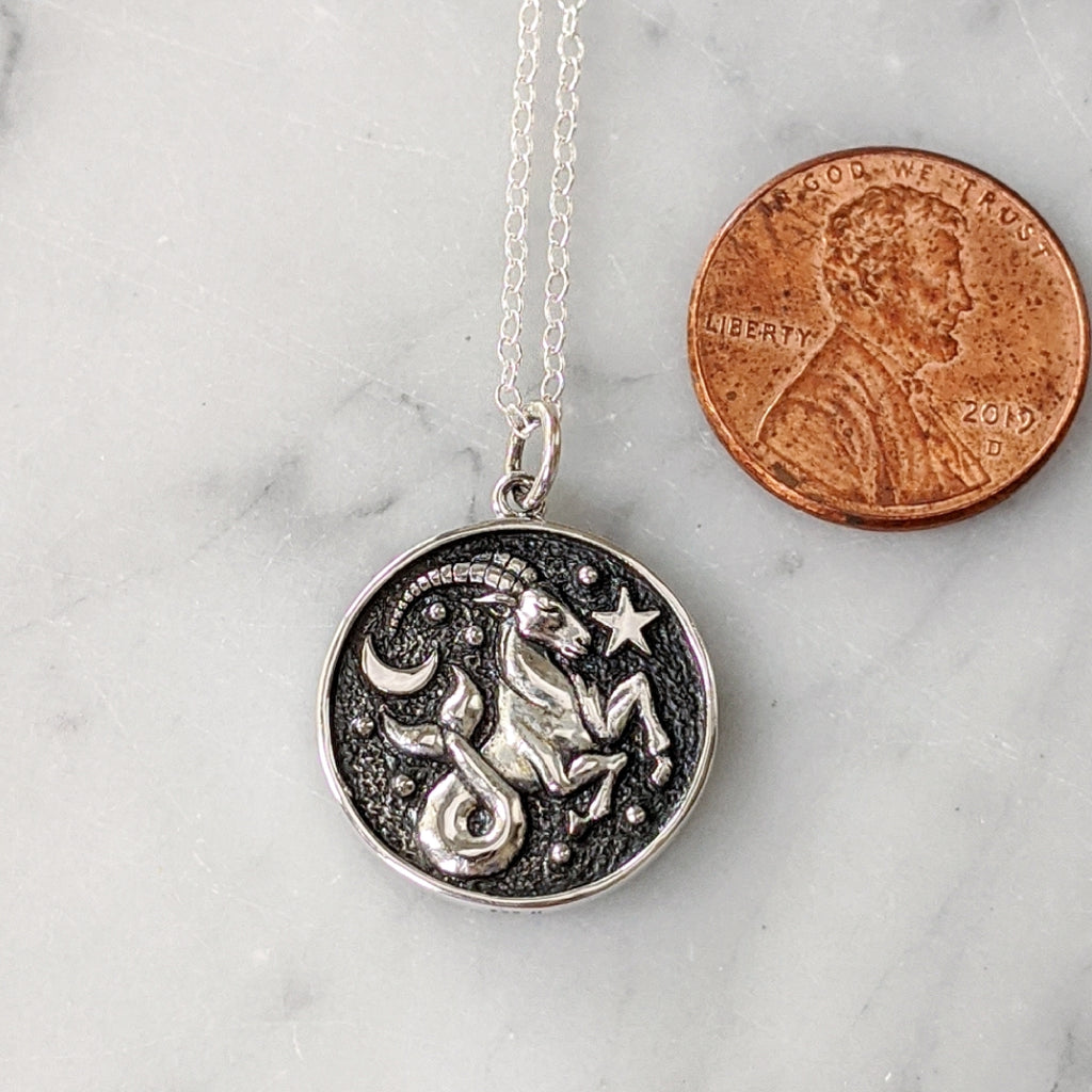 Capricorn Pendant Necklace