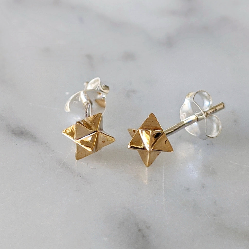 Merkaba Earrings
