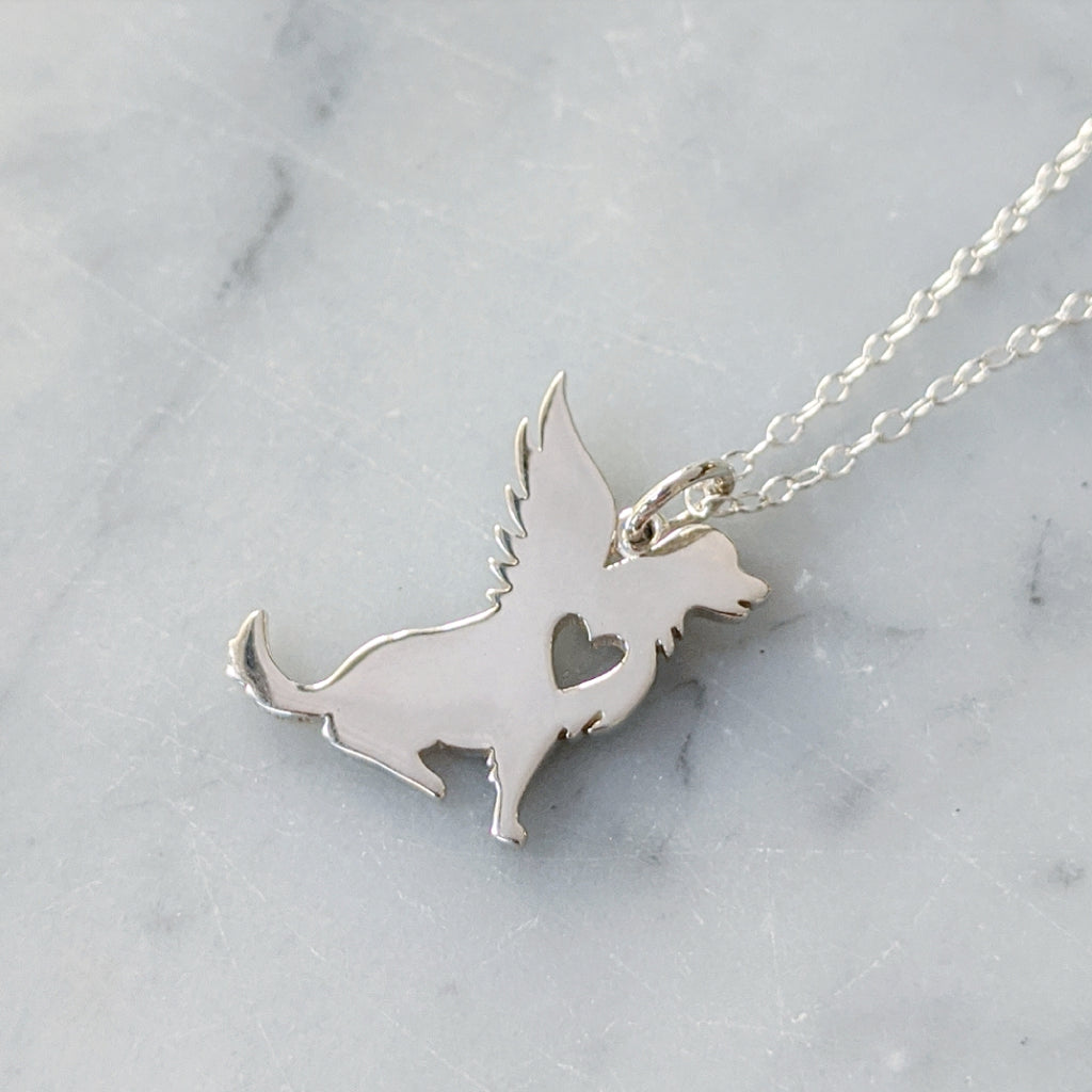 Angel Dog Necklace